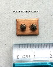 Double Light Switch, Doll House Fixtures & Fittings 1.12 Scale Lighting