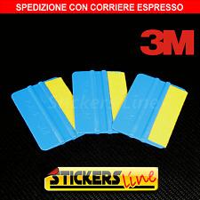 3 spatole professionali 3M spatola con feltro pellicola adesivo CAR WRAPPING