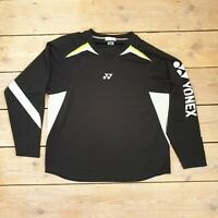 "Yonex Long Sleeve Shirt Top Badminton pit to pit 23"""