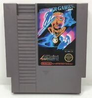Nintendo NES Winter Games Video Game Cartridge *Authentic/Cleaned/Tested*