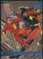 1995 DC Versus Marvel Trading Card #56 Capt. Marvel vs. Capt. Marvel