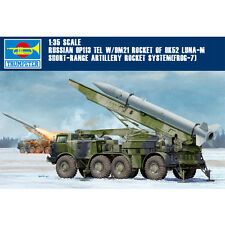 Trumpeter 01025 1/35 Russian FROG-7 Luna-M Short-range Rocket System Model Kits