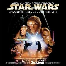 CD Colonna Sonora STAR WARS: EPISODE 3 - REVENGE OF THE SITH (CD + DVD)