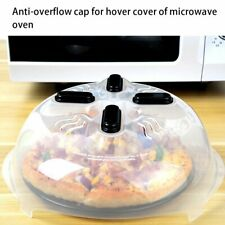 Microwave Plate Cover With Magnetic Hover Function Splatter Guard Lid ZH