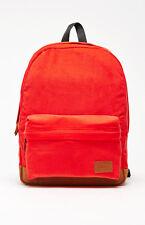 New Vans Deana III Red Book Bag Backpack