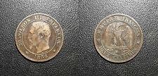 Napoléon III - 2 centimes tête nue 1856 BB, Strasbourg TTB - F.107/40