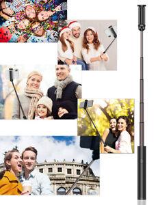 For iPhone Samsung Telescopic Selfie Stick Bluetooth Tripod Monopod Phone Holder