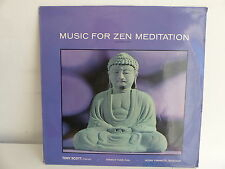 Music for zen meditation TONY SCOTT SHINICHI YUIZE HOZAN YAMAMOTO 2304138