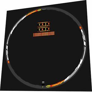 MAVIC CROSSMAX SLR 2007 26 COLL DISC MTB REPLACEMENT RIM DECAL SET FOR 2 RIMS