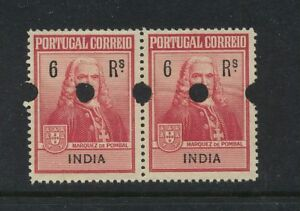 Portugal  India RA1 proof pair mint og  LOOK