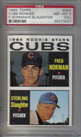 1964 Topps  Baseball Card #469 Chicago Cubs Rookie Stars PSA NM-MT 8 (OC)