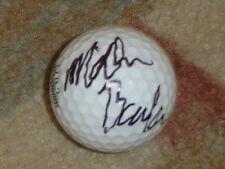 New listing Miller Barber Signed Golf  Ball COA