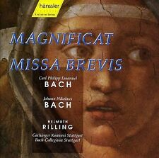 Bach:Magnificat/Missa Brevi  MUSIC CD