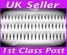 60 Stand Mixed Size Individual False Fake Eyelashes Premium Flare Cluster Lashes