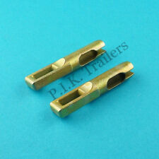 2 x Brake Cable Eyelet Connector for Knott Brake Drums - Ifor Williams Trailer
