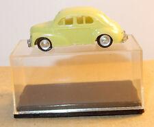 OLD 1960 MICRO EKO HO 1/86 1/87 MADE IN SPAIN RENAULT 4CV JAUNE / VERT IN BOX