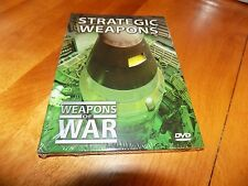 WEAPONS OF WAR STRATEGIC WEAPONS Nuclear Missles Bombs Weapon Military DVD NEW