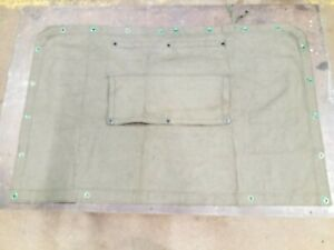 Dodge M37 Cargo Cover Rear Curtain 7707286