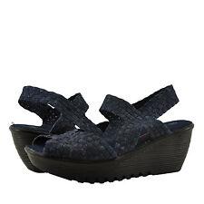 Women's Shoes Bernie Mev. Fame Open Toe Woven Wedge Sandal Jeans *New*