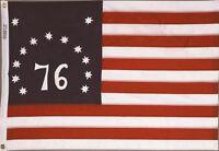 BENNINGTON 76 FLAG Sewn Embroidered Stars Sewn Stripes 4x6 ft NYLON Made in USA