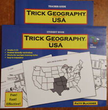 Trick Geography USA 2 Bk Set, Student and Teacher Guide by Patty Blackmer