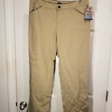 Dickies Womens Stretch Twill Pants Relaxed Fit Straight Leg Mid-Rise Sz 10P NWT