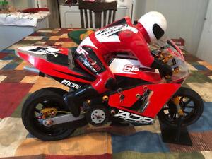 RARE Nuova Faor SF 509 Nitro RC Motorcycle 1/5th