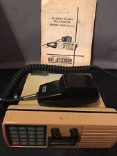 Vintage Marine Radio Telephone Ray Jefferson Model 9100 Vhf/Fm W/Manual Working