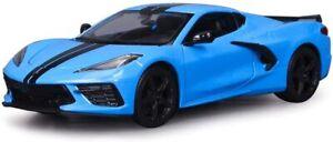 Maisto 2020 Chevrolet Corvette Stingray Coupe Die Cast Car Model 1:18 Scale NEW