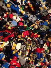 LEGO / 10 Random Mini- Figures / Clean Figs / Read Description / People / 10X