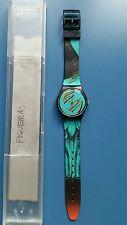 Orologio Swatch FIGUEIRAS 1989 - nuovo - da collezione - GB125
