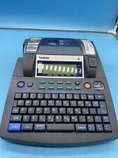 Brother P Touch Pt 9600 Electronic Labeling System No Power Adapter Nice