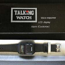 English Talking Wrist Watch visually impaired. 3 FREE BATTERIES. SHIPS FROM U.S