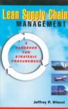 Lean Supply Chain Management: A Handbook for Strategic Procurement-ExLibrary