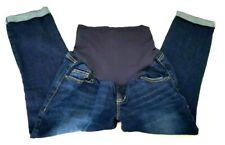 Old Navy Maternity Jeans Blue Dark Wash Denim Size 4