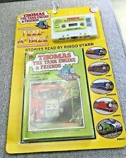 R.W. Awdry THOMAS THE TANK ENGINE Thomas & Bertie RINGO STARR CASSETTE 1986 NEW