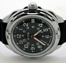 RUSSIAN VOSTOK  KOMANDIRSKIE 211783  MILITARY WRIST WATCH   NEW