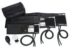 3-in-1 Aneroid Sphyg Set with Carry Case, Black  1 ea