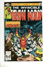 Iron Man #148 SIGNED by MICHELINE & JOHN ROMITA JR.! NM 9.0 Captain America App!