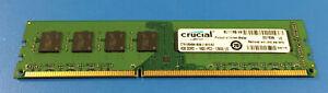 Crucial CT51264BA160B 4GB DDR3 - 1600 (PC3-12800)