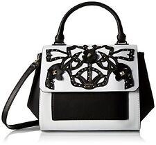 GUESS Evette Top Handle Flap Satchel Bag