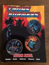 Transformers Fallen Angel Graphic Novel Titan pub. 2002 softcover