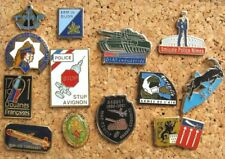 LOT 13 PIN'S thème POLICE DOUANES MILITAIRE ARMÉE / ARMY PINS PIN R6