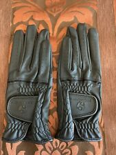 New listing Heritage Leather Black Horse Show Glove Size 8 NWOT