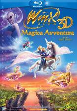 Blu Ray WINX CLUB MAGICA AVVENTURA  3D   ......NUOVO