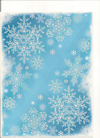 4 Glitter Window Corner Cling Stickers Snowflakes,Trees & Icicles BNIP