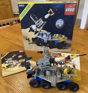 Vintage Lego Space System Mobile Rocket Transport 6950 Legoland 1982 Complete