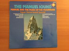 Vinyl LP - The Manuel Sound. Manuel and the Music of the Mountains