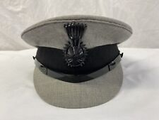 Vintage Military Style Grey Cap