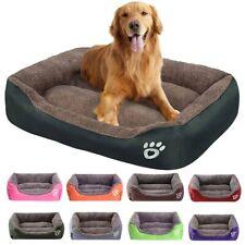Warm Fleece Dog Bed For Small Medium Large Dogs Cat 4 Sizes Plush Pet Cushions